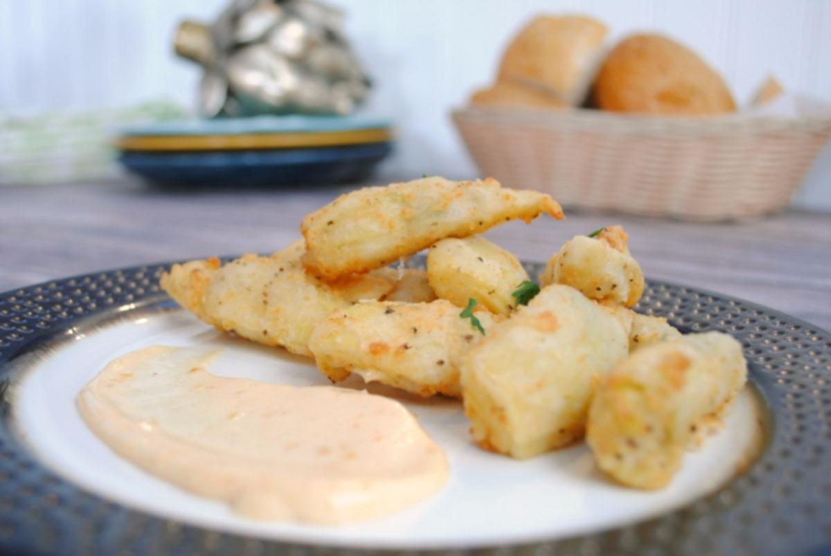 Fried Artichoke Bites