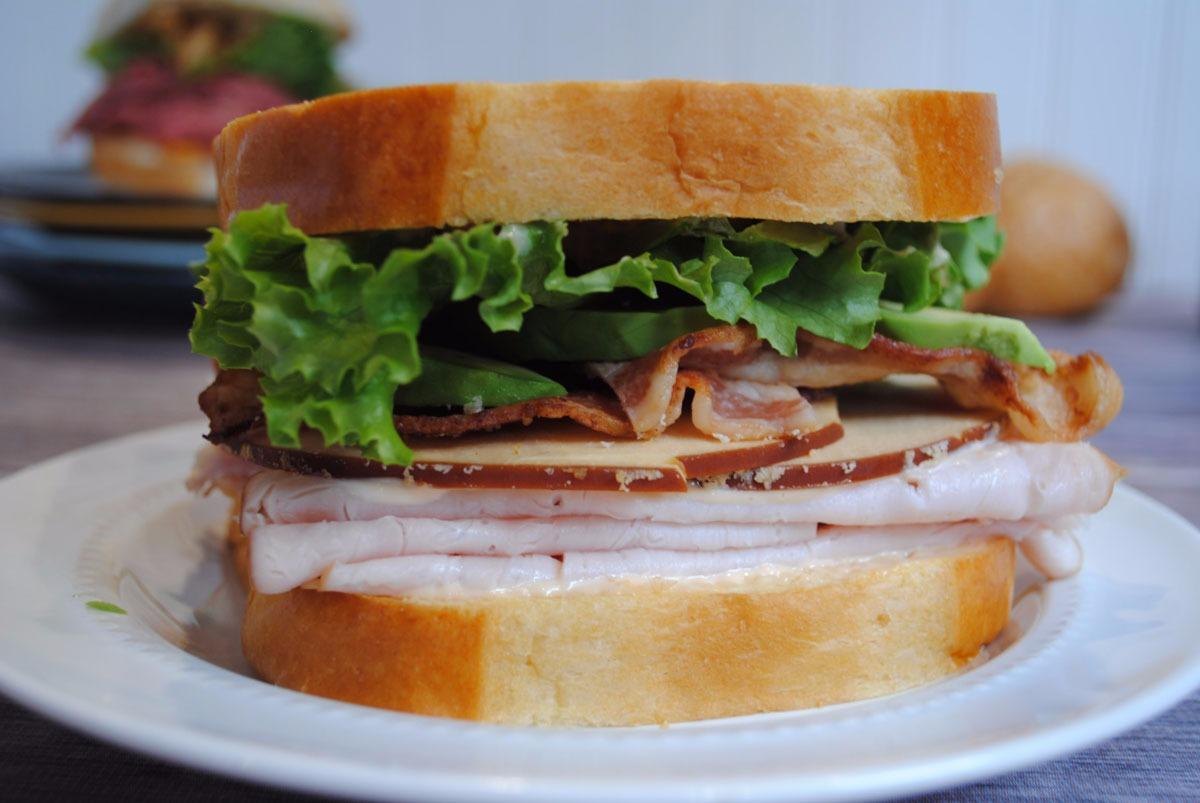 Southwest Turkey Avocado Sandwich