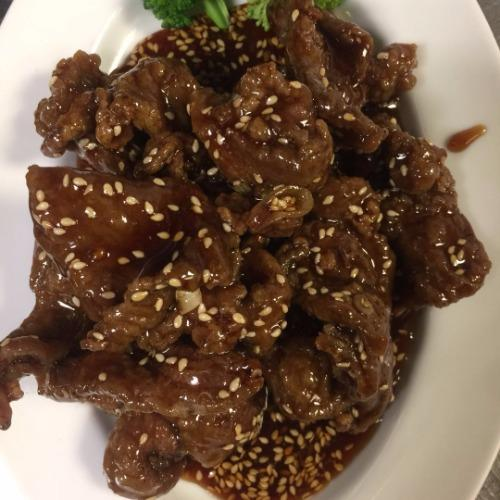 Lunch Sesame Beef