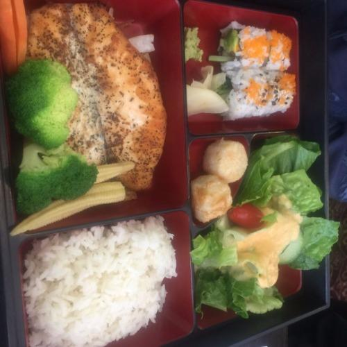 Lunch Box Salmon Teriyaki