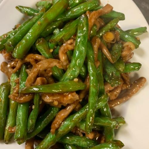 Pork with String Beans