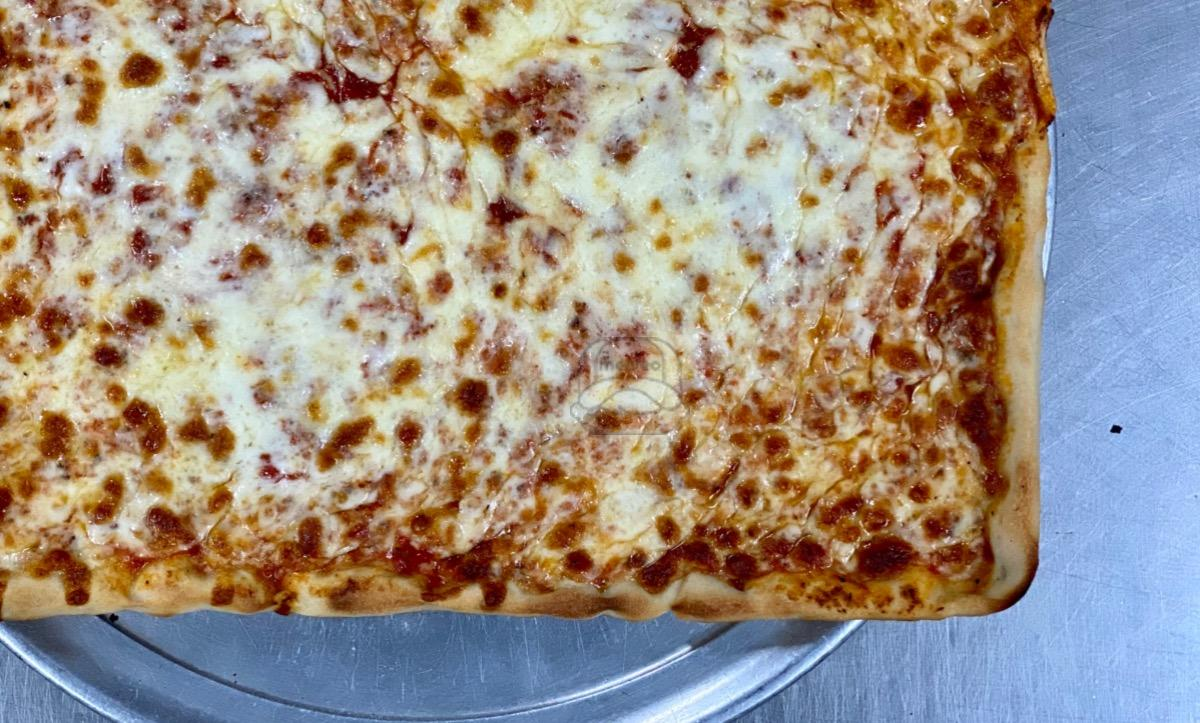 12 Cut Square Cheese Pizza