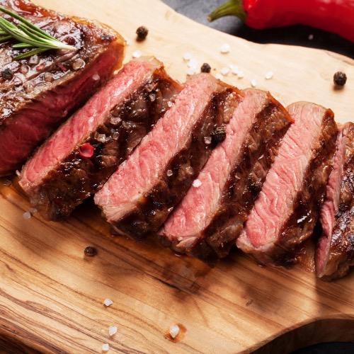 Choice 8 Lb. Sirloin Strip