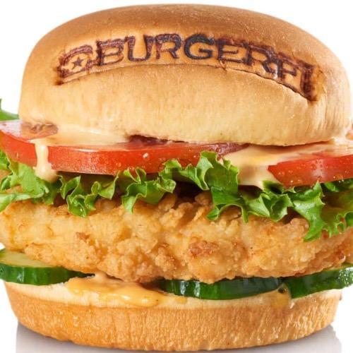 Fi'ed Chicken Sandwich