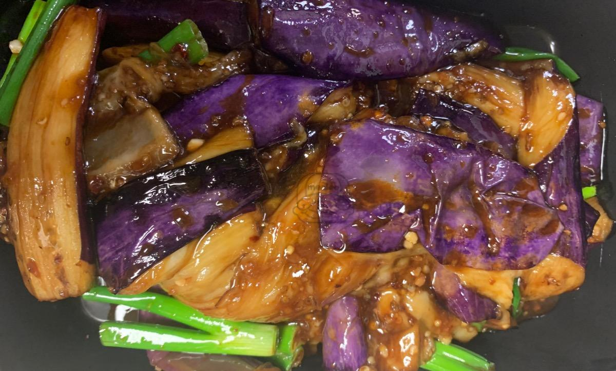 Eggplants in Garlic Sauce