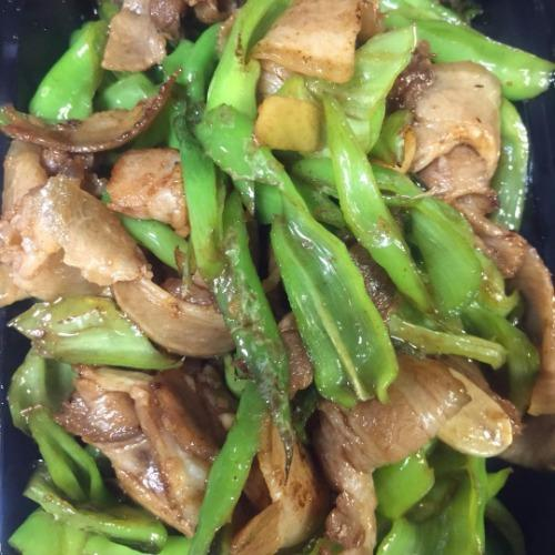 Chinese Hot Pepper w/ Pork Belly