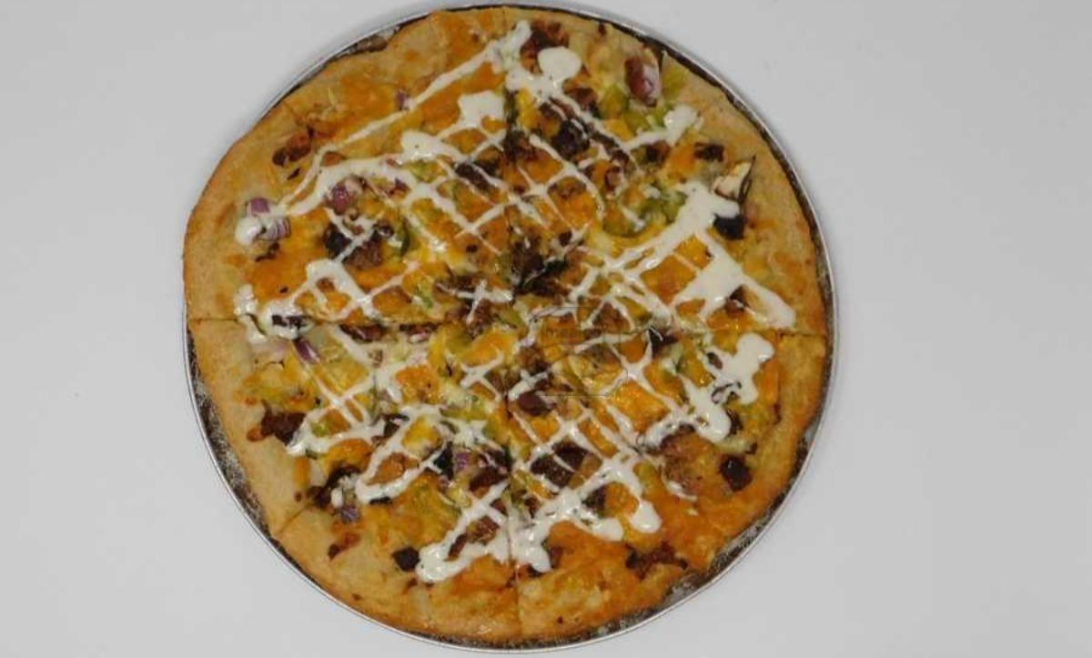 Pickle Bacon Ranch Pizza