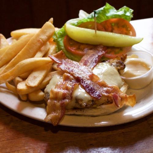 Grilled Chicken Deluxe Sandwich
