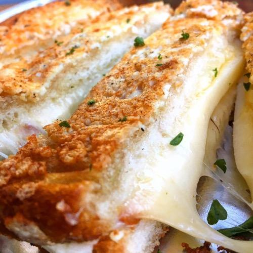 Fried Cheese Sandwich