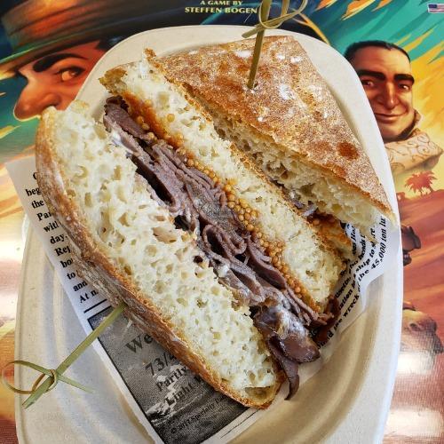 Cowboy Hat Sandwich