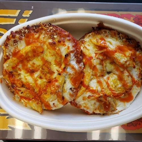 Buffalo Chicken Pizza Bagel
