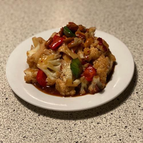 10. Kung Pao Cauliflower