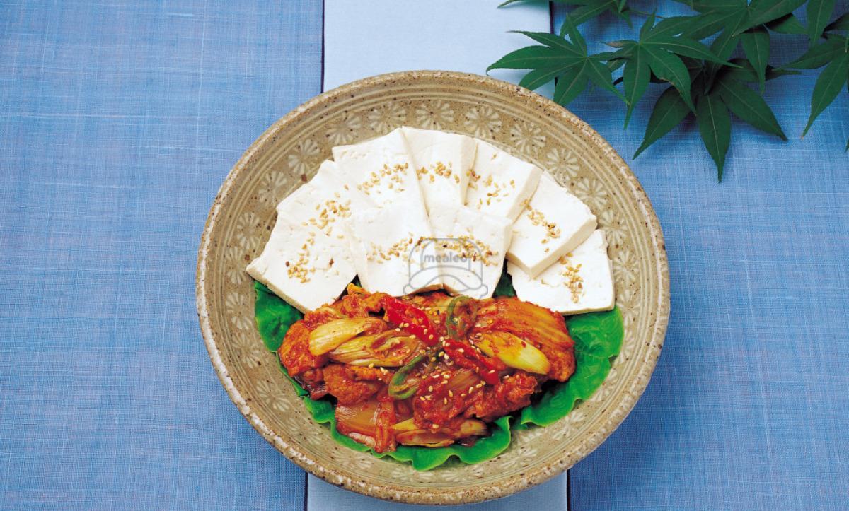 E10. Tofu Kimchi