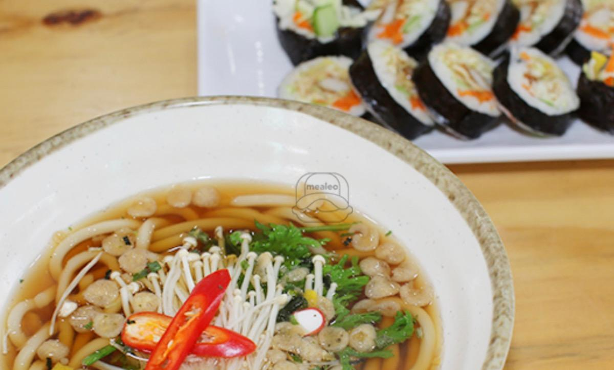 L2. Kim Bap with Udon