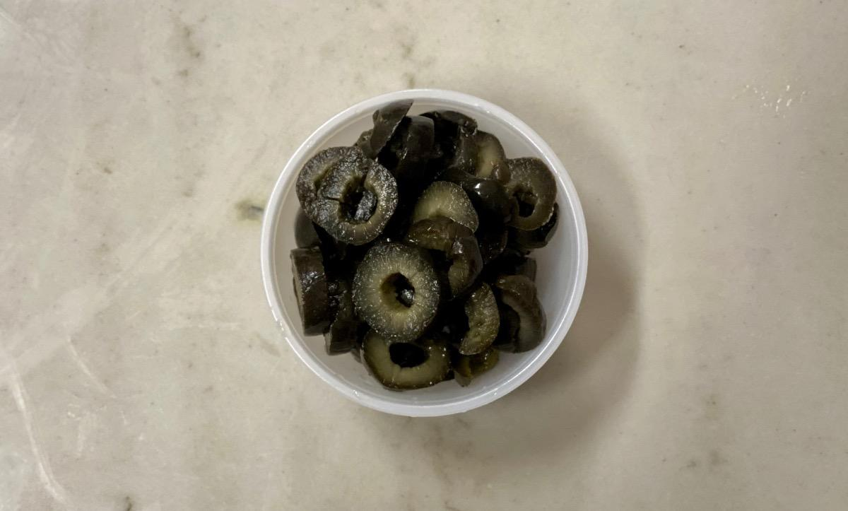 Side of Sliced Black Olives