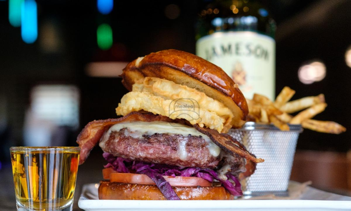Irish Whiskey Burger
