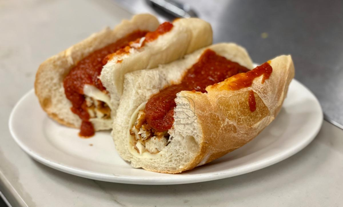 Chicken Parm Cutlet Hot Sub
