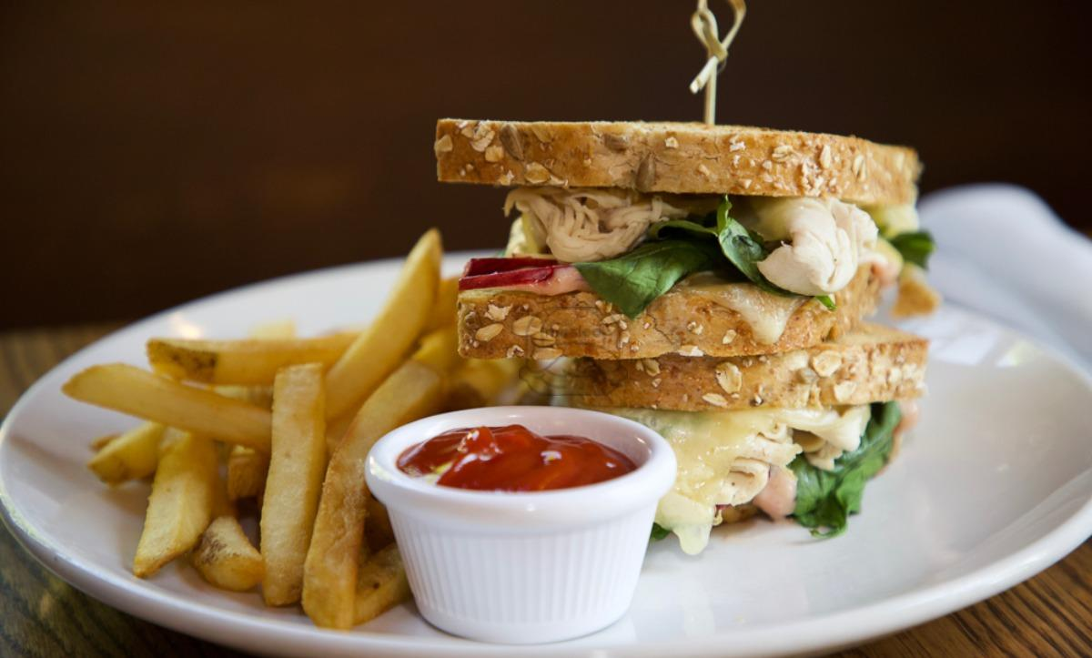 Cran-Apple Turkey Panini