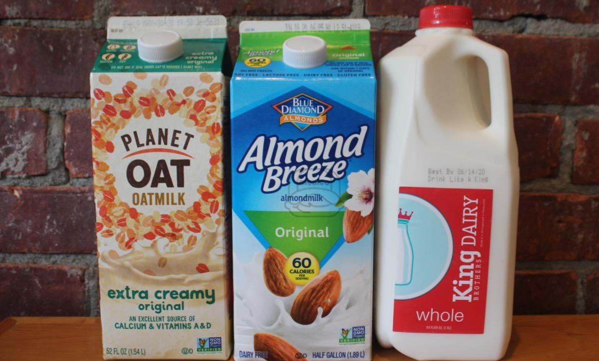 Dairy & Non-Dairy Milk - 1/2 gallon