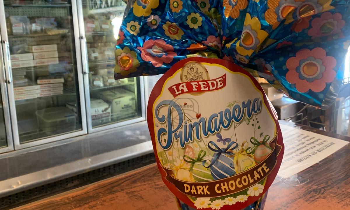 La Fede Dark Chocolate Egg