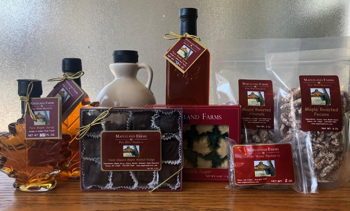 Mapleland Farms products