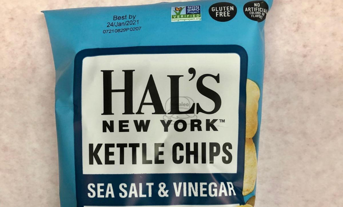 Sea Salt & Vinegar Kettle Chips