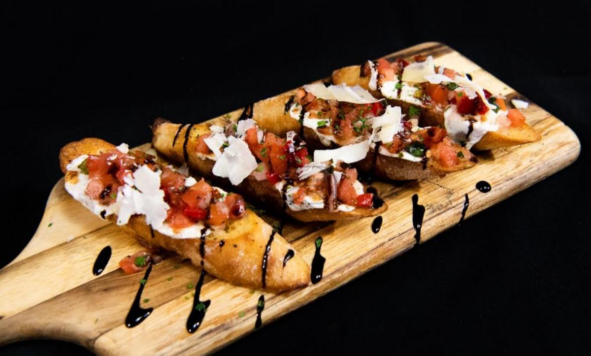 Classic Mozzarella Bruschetta