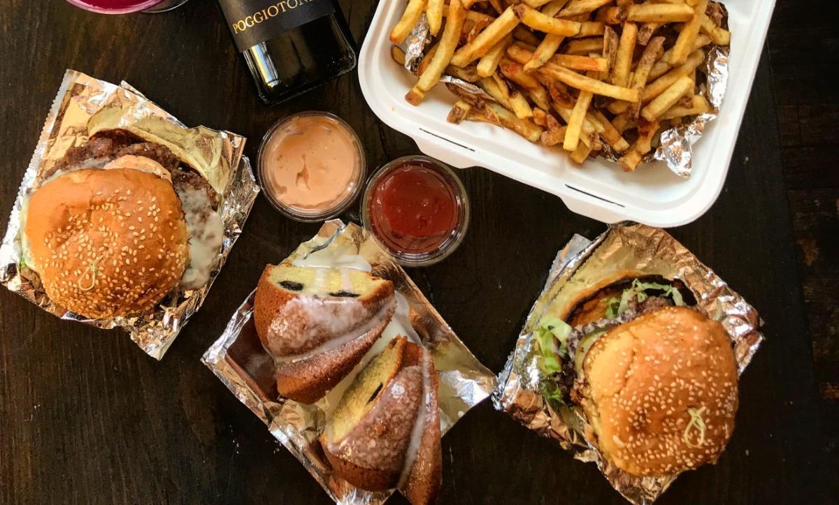 Cocktail burger kit