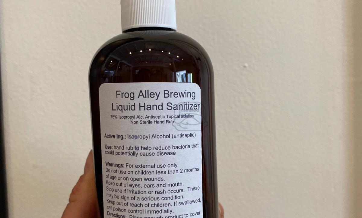Frog Alley Hand Sanitizer