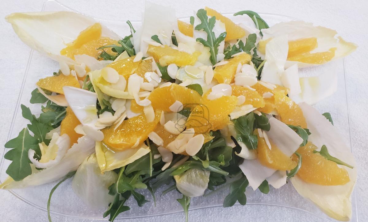 Arugula endive citrus salad