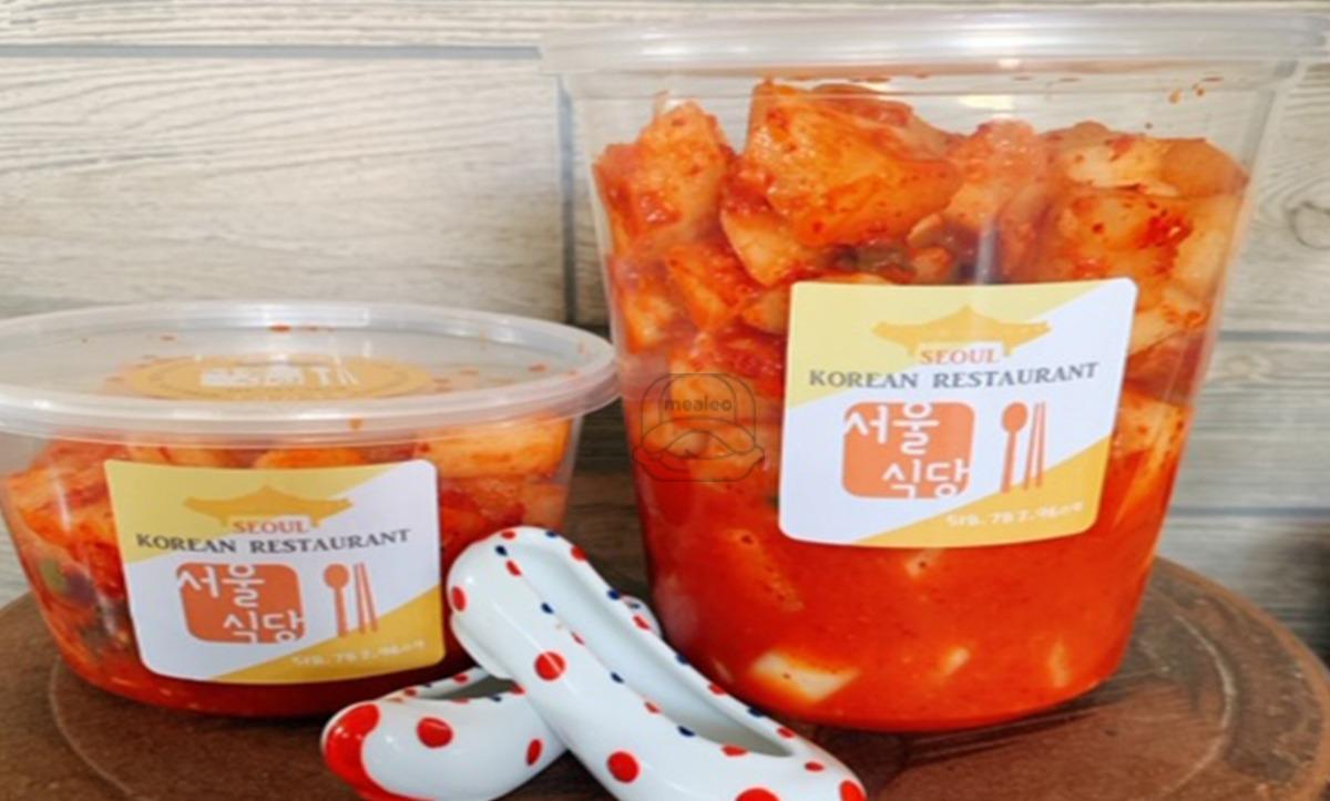 Large size Radish kimchi