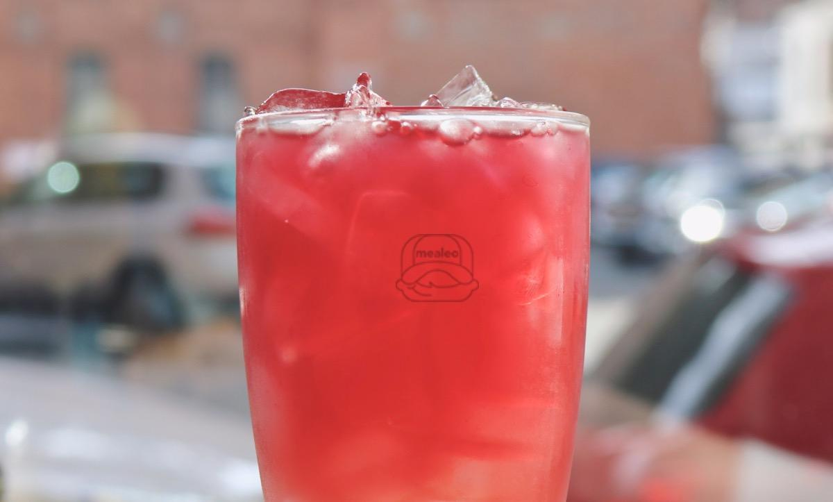 raspberry lavender lemonade