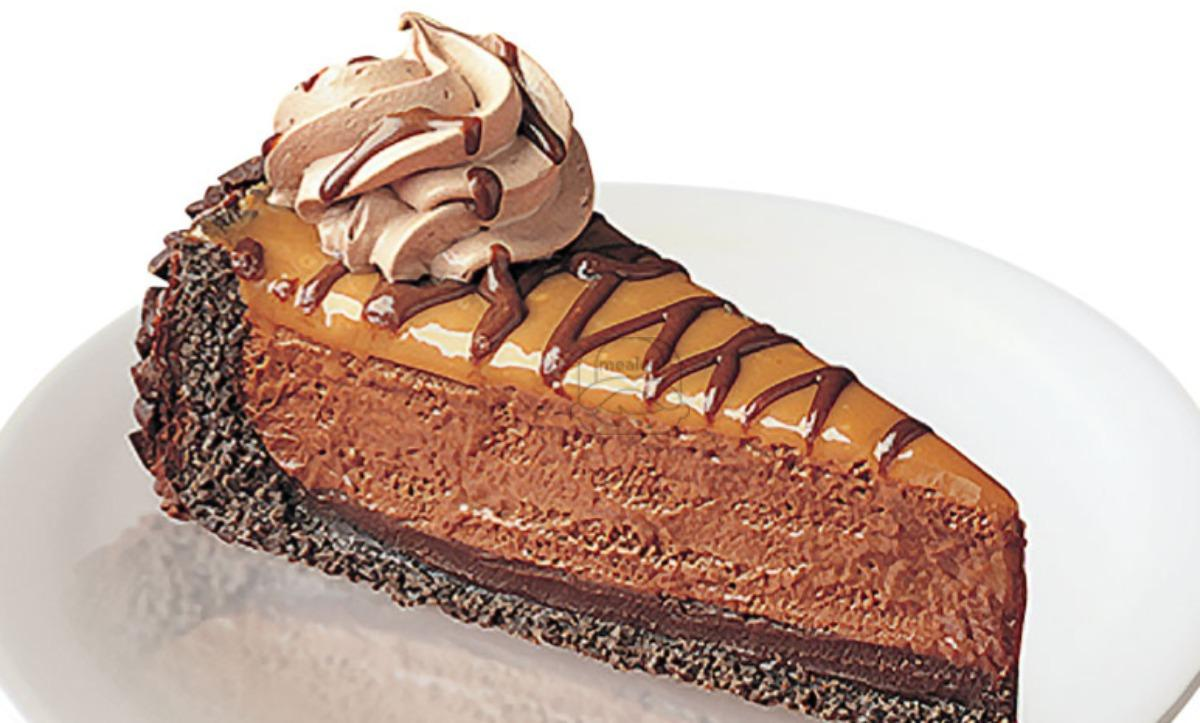 chocolate malted caramel pie