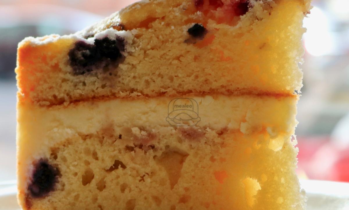 lemon berry mascarpone cake