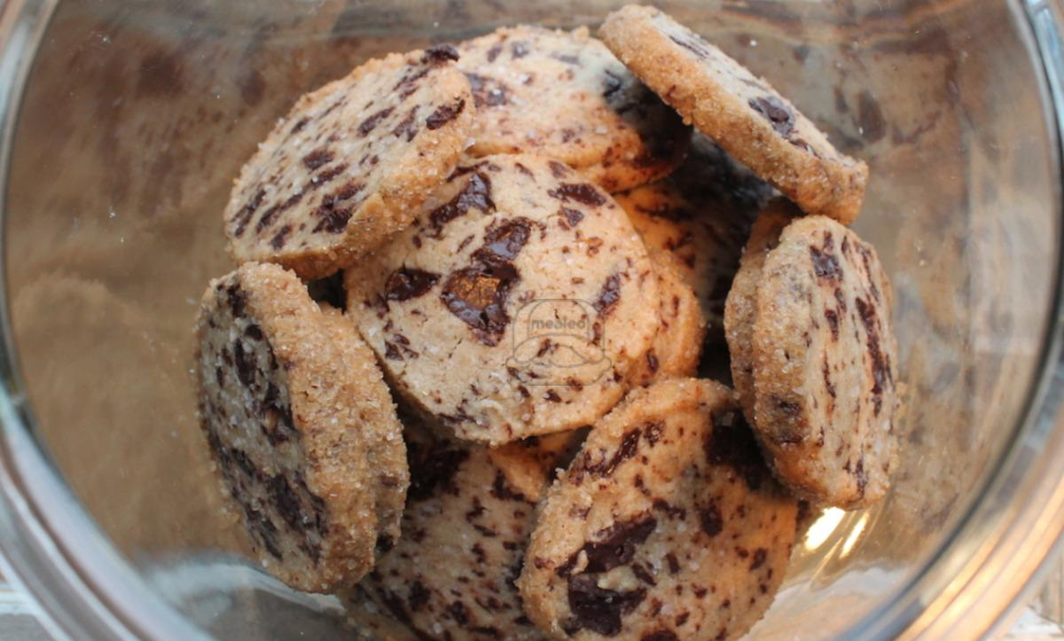 Salted Chocolate Chunk Shortbread