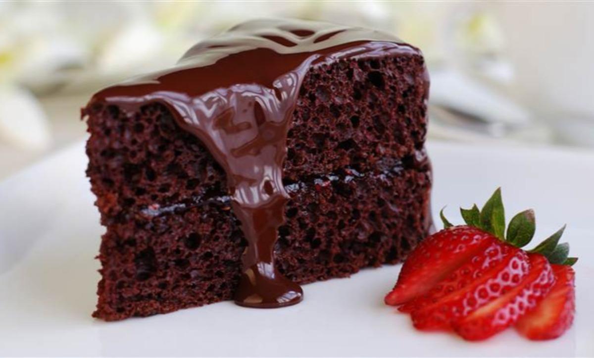 Triple Chocolate Fudge Layer Cake