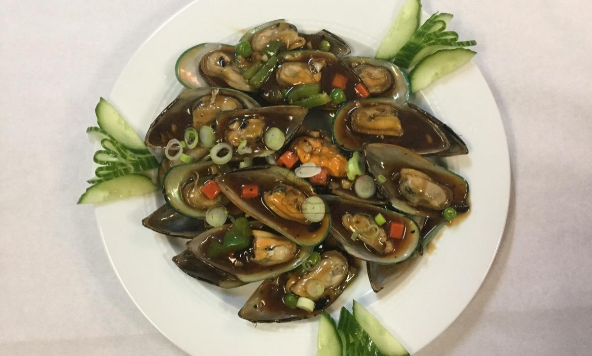 Mussel with Black Bean Sauce