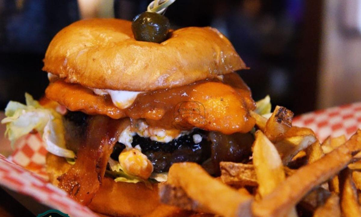 Clydesdale Clucker Burger