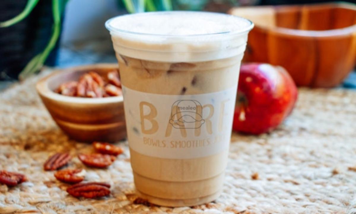 Cinnamon Cashew Cream Latte