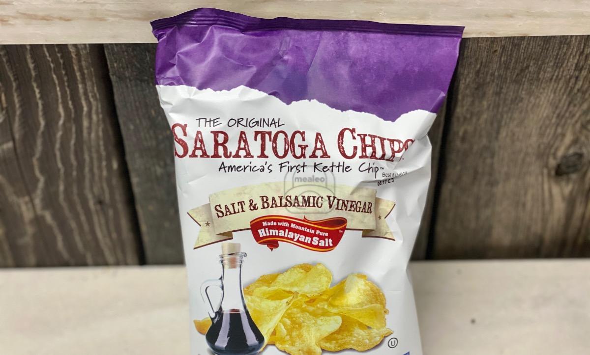 Salt & Balsamic Vinegar Chips