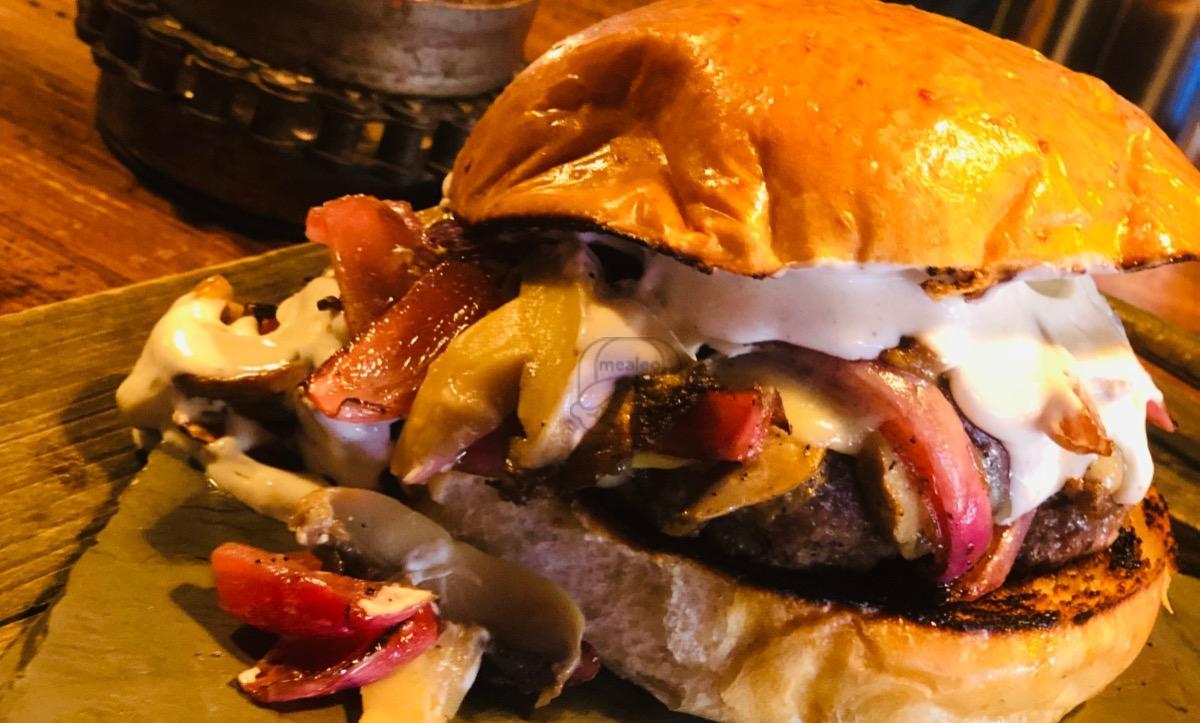 Truffle Shuffle Burger