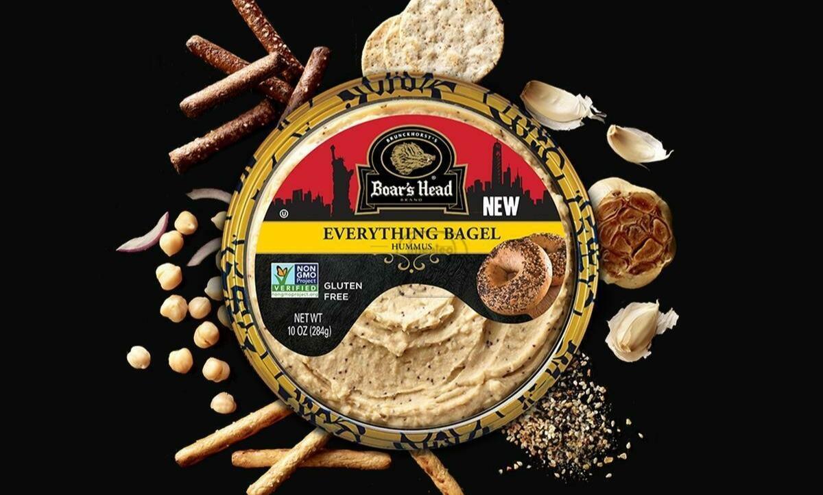 Hummus Everything Bagel