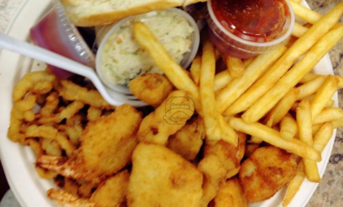 Big Ted Seafood Combo