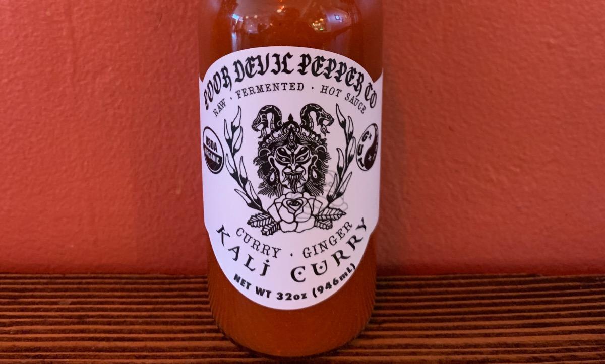 Poor Devil Pepper Co. Kali Curry Hot Sauce