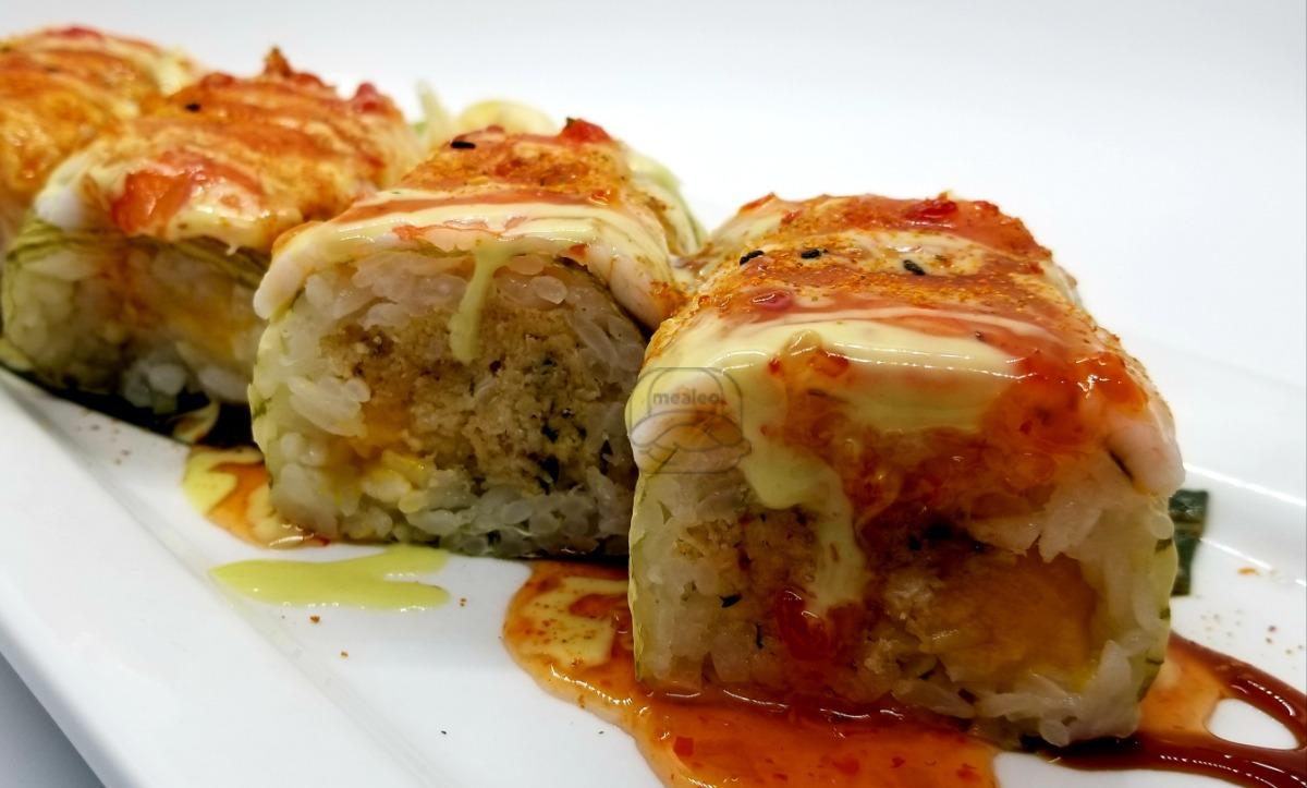 Popping Crab Roll