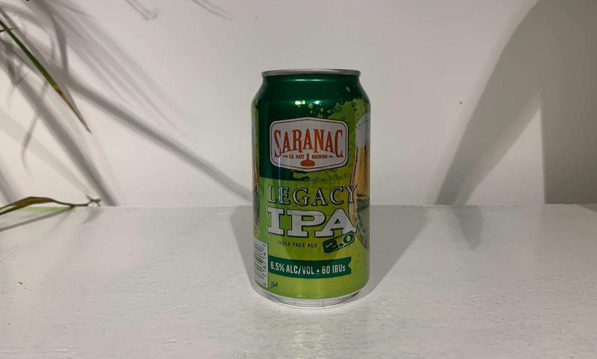12 oz Saranac Legacy IPA