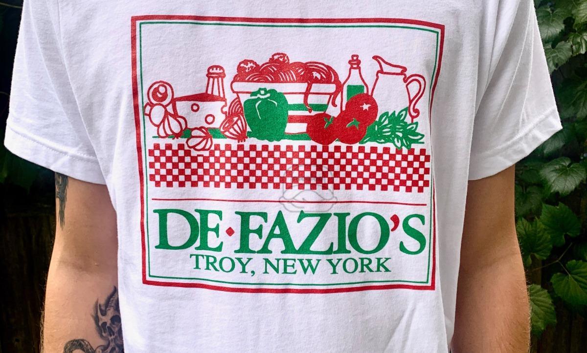 DeFazio's White Retro T-Shirts