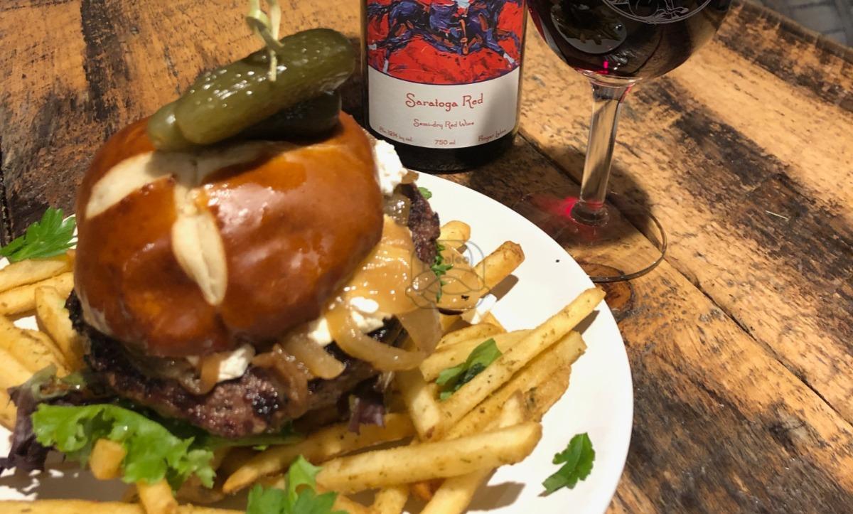 Saratoga Red Wine Burger