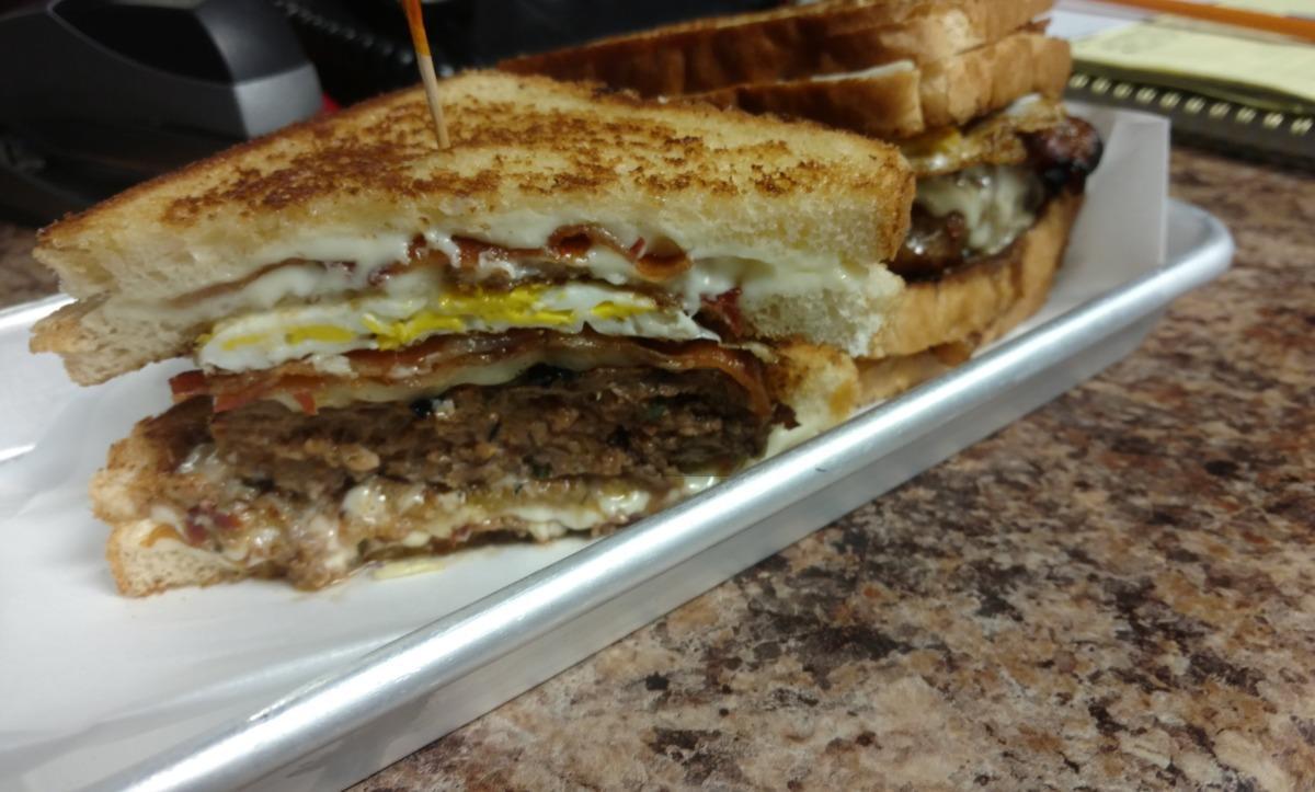 The Coronary Infarction Burger