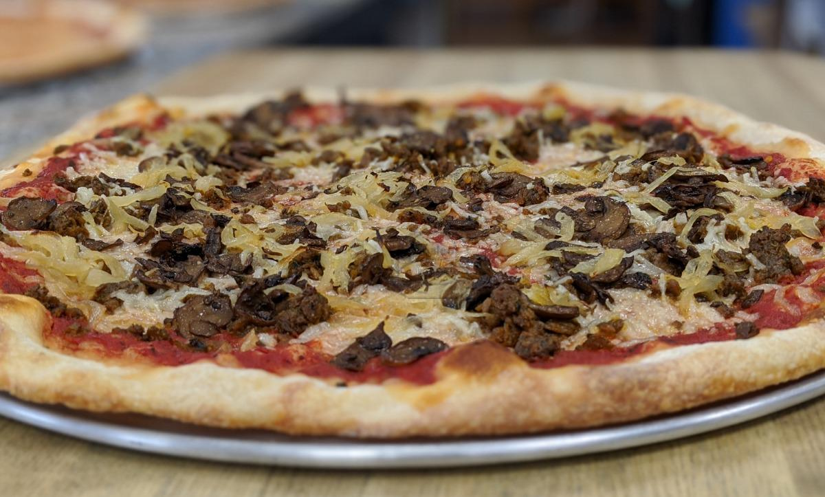 Vegan Fancy Pizza - Small (15
